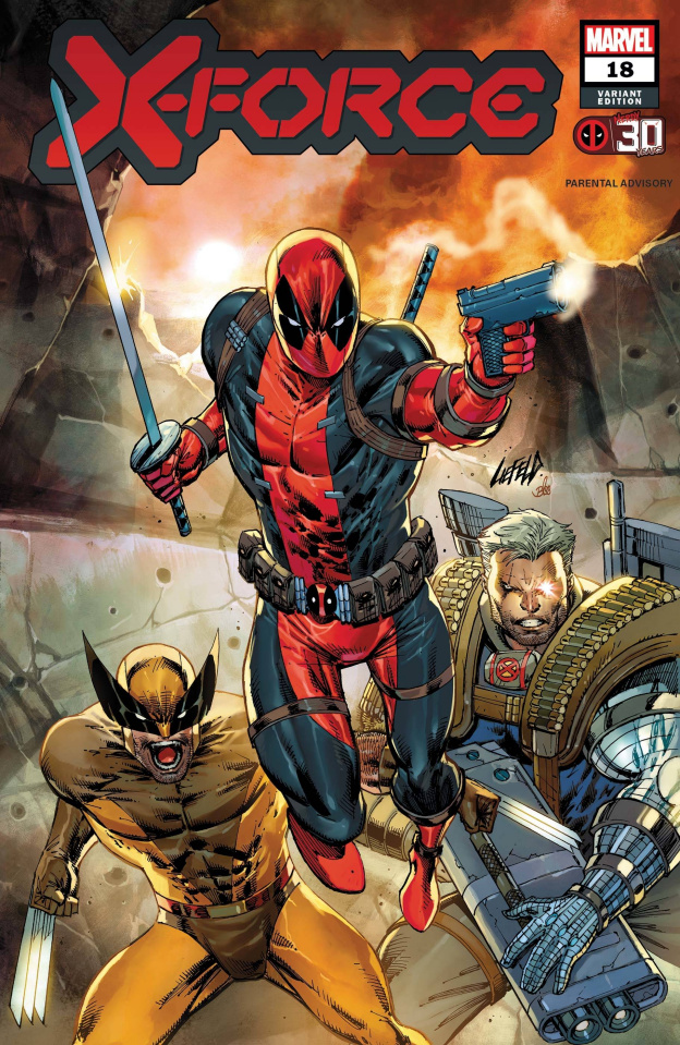 X-Force #18 (Liefeld Deadpool 30th Anniversary Cover)