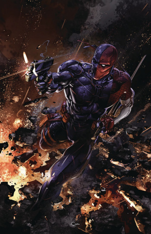 Deathstroke #43: The Terminus Agenda (Variant Cover)