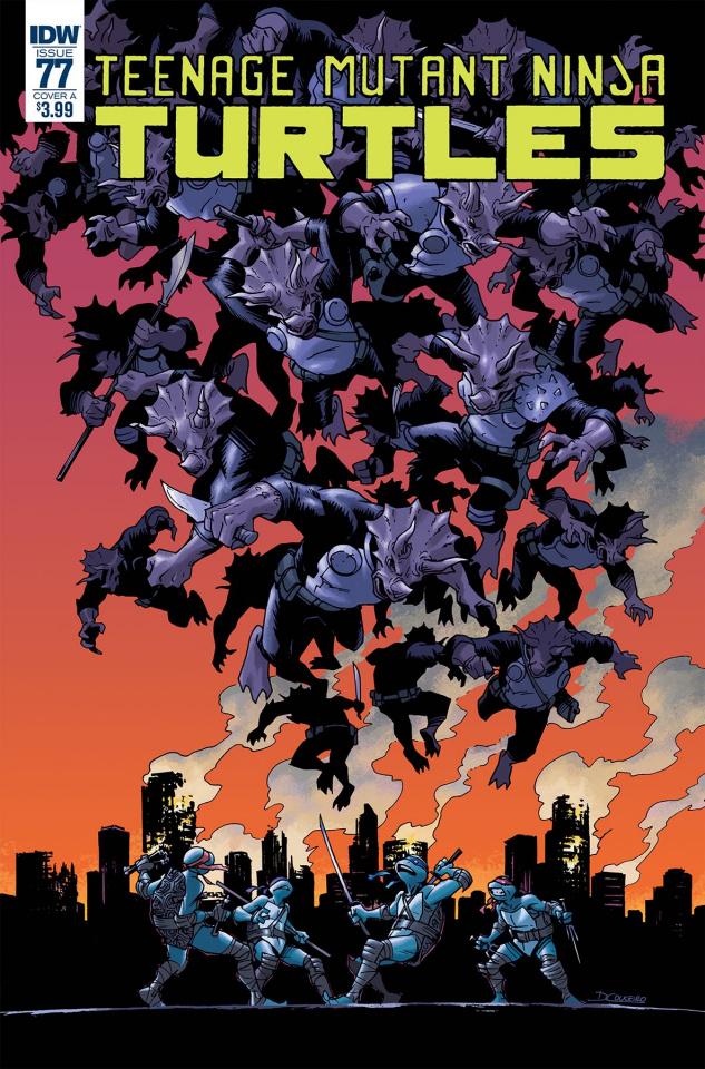 Teenage Mutant Ninja Turtles #77 (Couceiro Cover)