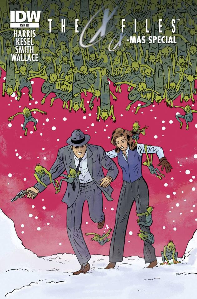 The X-Files X-Mas Special (10 Copy Cover)