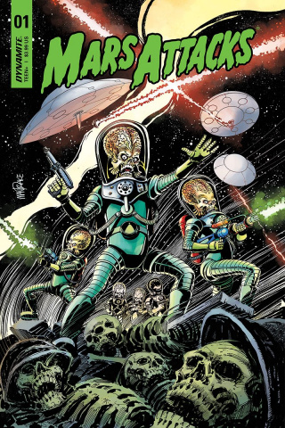 Mars Attacks #1 (Mandrake Cover)