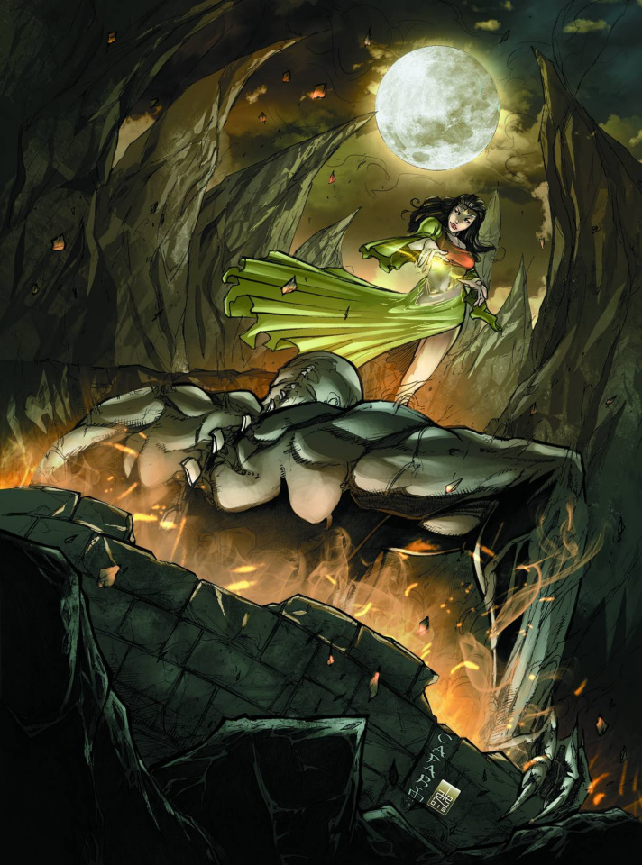 Grimm Fairy Tales: Hunters - Shadowlands #2 (Cafaro Cover)