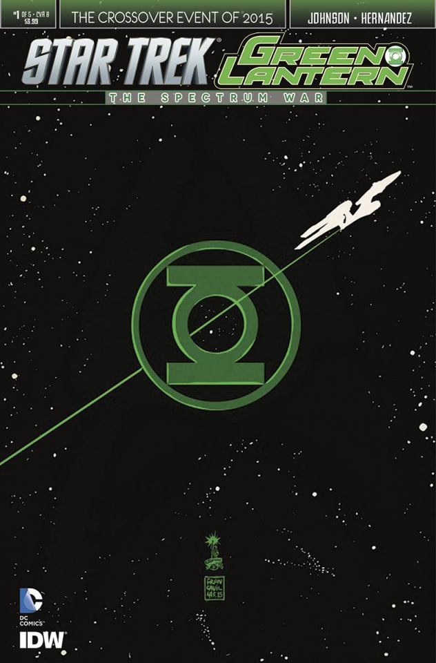 Star Trek / Green Lantern #1 (Francavilla Cover)