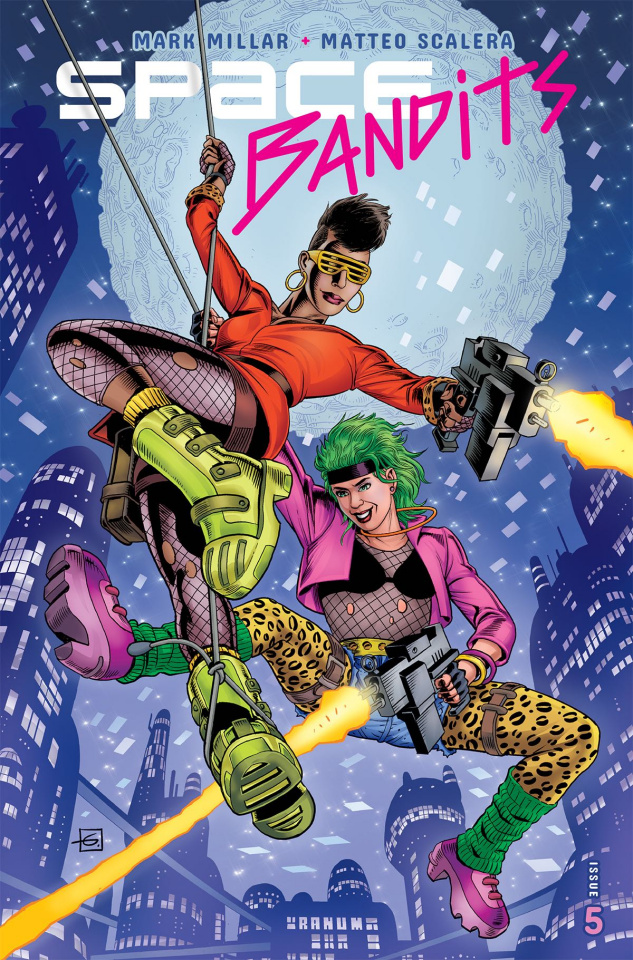 Space Bandits #5 (Legends Gibbons Cover)