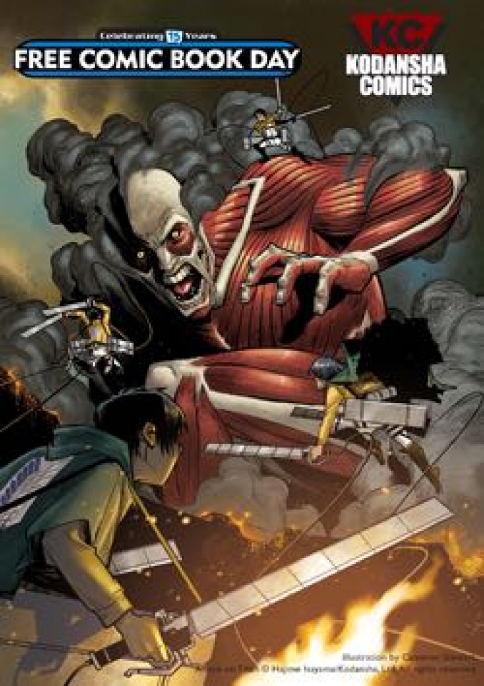 Attack on Titan Anthology Preview (FCBD 2016 Edition)