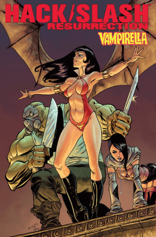 Hack/Slash: Resurrection #8 (Seeley Cover)