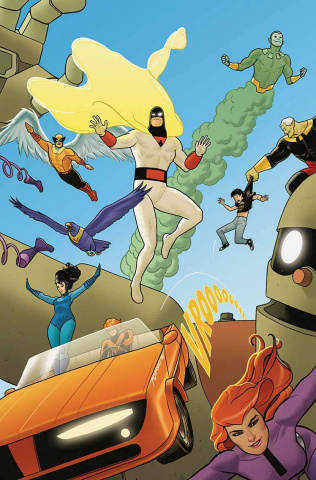 Future Quest #1 (Action Heroes Cover)