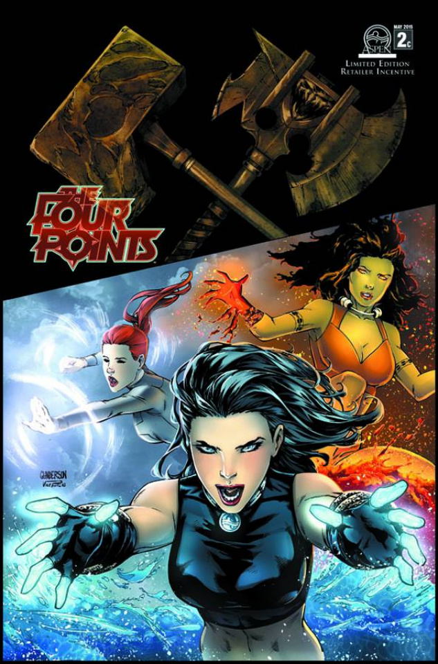 The Four Points #2 (10 Copy Cover)
