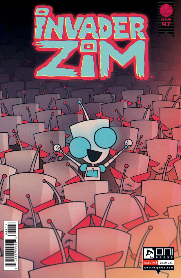 Invader Zim #47 (Cab Cover)