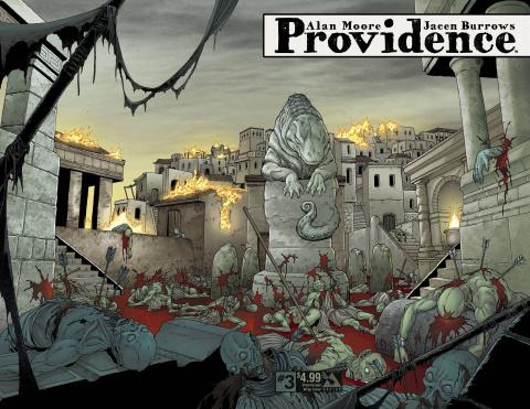 Providence #3 (Dreamscape Wrap Cover)