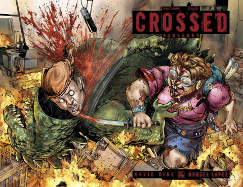 Crossed: Badlands #73 (Wrap Cover)