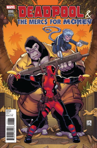 Deadpool and the Mercs For Money #6 (Character Cover)