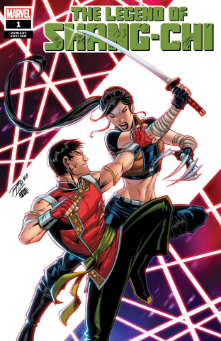 The Legend of Shang-Chi #1 (Lim Cover)