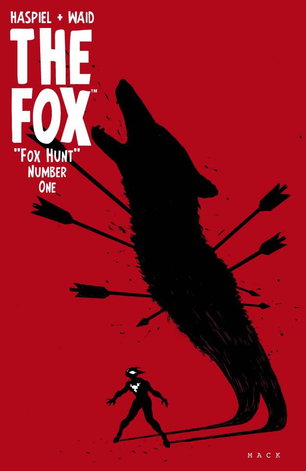 The Fox #1 (Mack Cover)