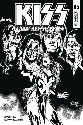 KISS: Blood and Stardust #5 (10 Copy Buchemi B&W Cover)