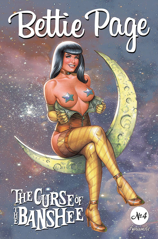 Bettie Page and The Curse of the Banshee #4 (Linsner Cover)