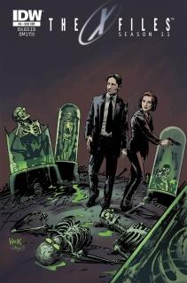 The X-Files, Season 11 #6 (Subscription Cover)