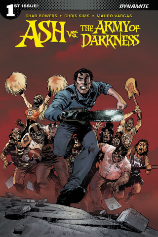 Ash vs. The Army of Darkness #1 (Brown Cover)