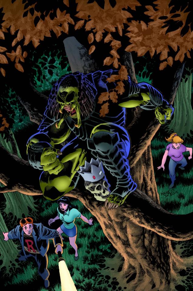 Archie vs. Predator #3 (Jones Cover)