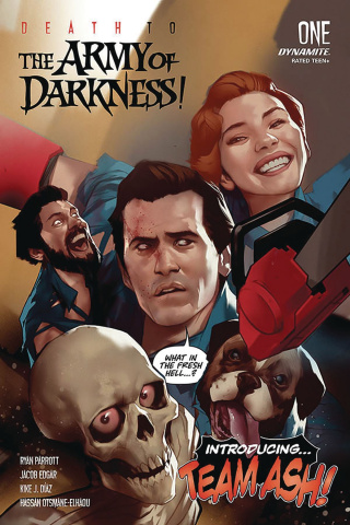 Death to the Army of Darkness #1 (Oliver Cover)