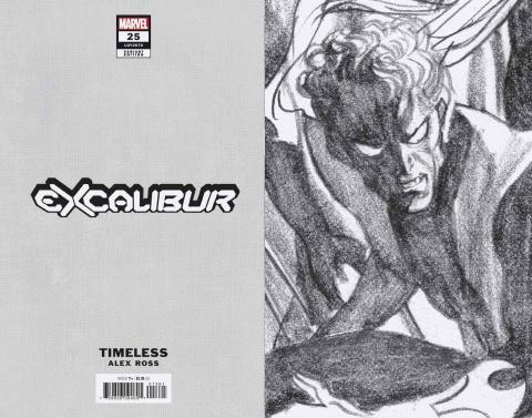 Excalibur #13 (Ross Nightcrawler Timeless Virgin Sketch Cover)