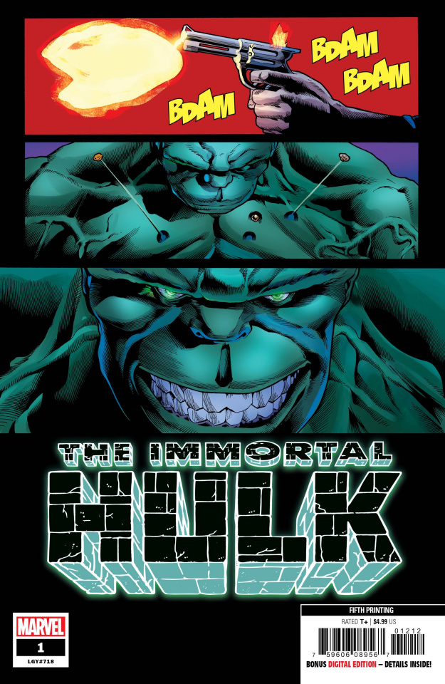 The Immortal Hulk #1 (Bennett 5th Printing)
