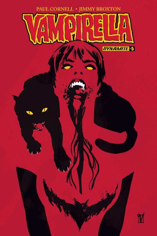 Vampirella #5 (Delandro Cover)