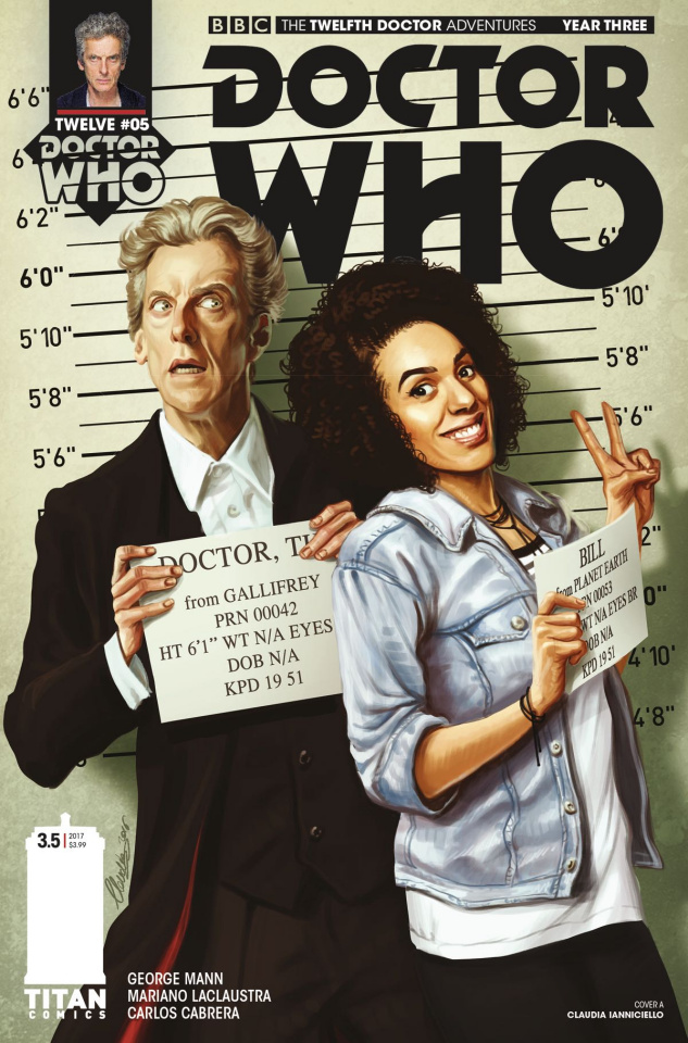Doctor Who: New Adventures with the Twelfth Doctor, Year Three #5 (Iannicello Cover)
