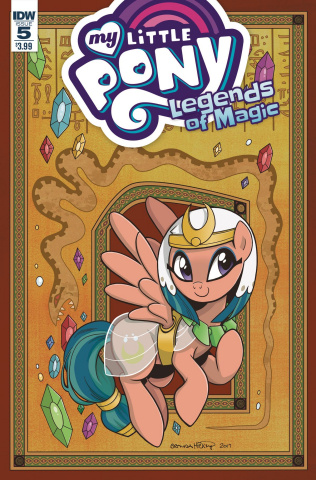 My Little Pony: Legends of Magic #5 (Hickey Cover)