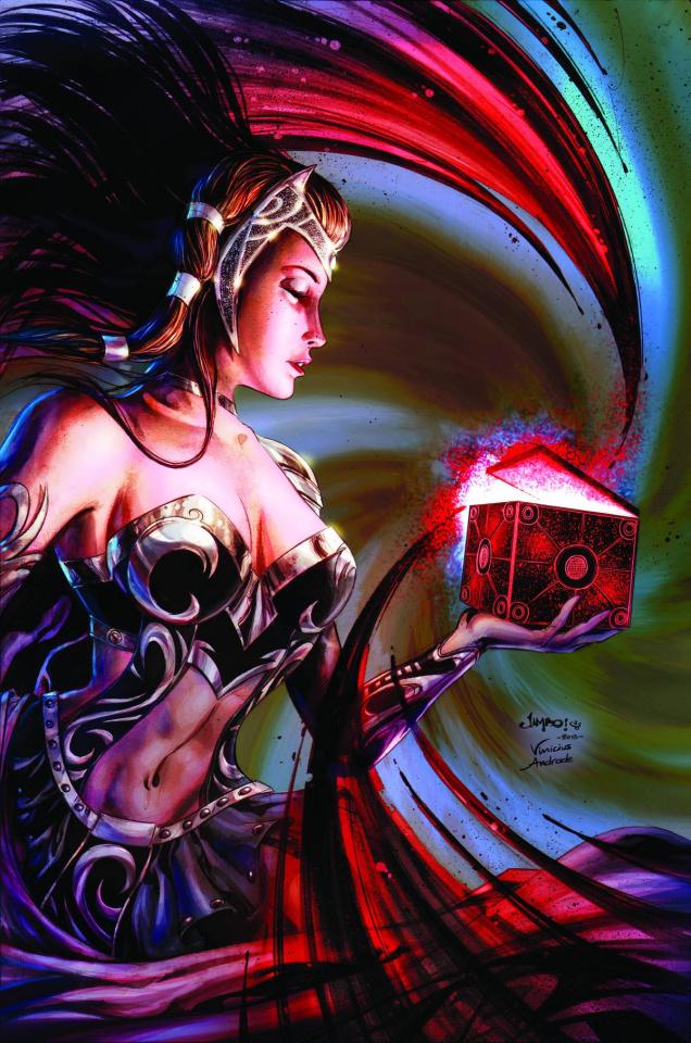 Grimm Fairy Tales Annual 2013 (Salgado Cover)