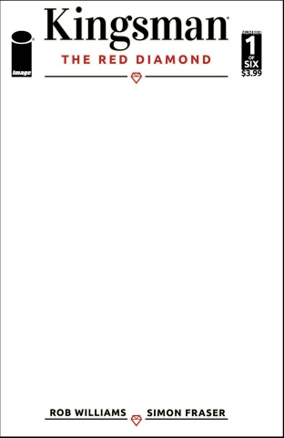 Kingsman: The Red Diamond #1 (Blank Sketch Cover)
