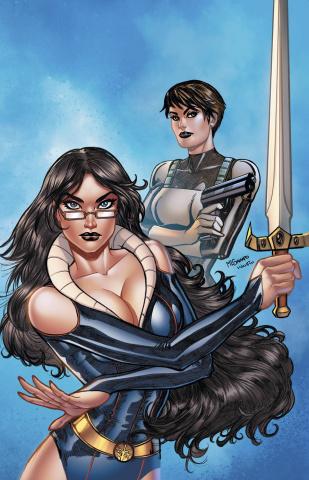 Grimm Fairy Tales #120 (Sanapo Cover)