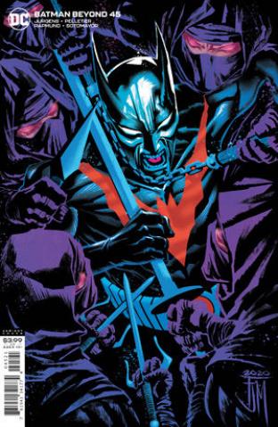 Batman Beyond #45 (Francis Manapul Cover)