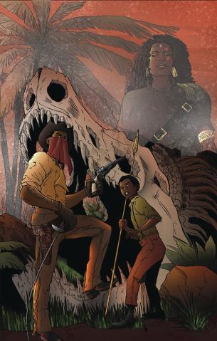 Red Range: Pirates of Fireworld #1 (N Steven Harris Cover)