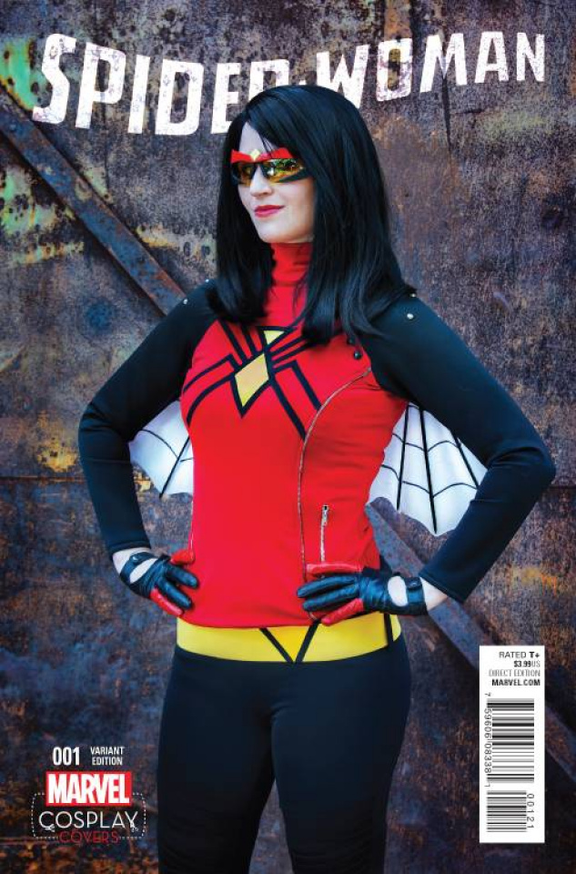 Spider-Woman #1 (Cosplay Cover)