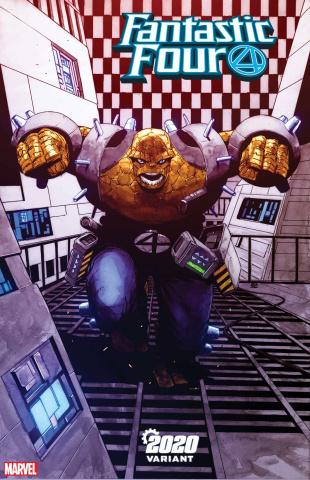 Fantastic Four #17 (Pham 2020 Cover)