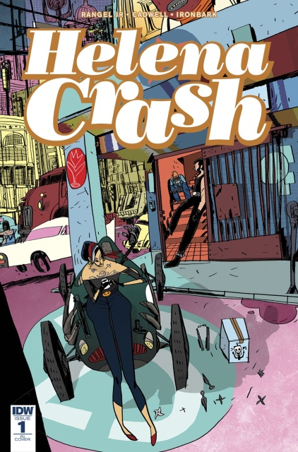 Helena Crash #1 (10 Copy Cover)