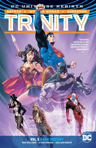 Trinity Vol. 3: Dark Destiny (Rebirth)