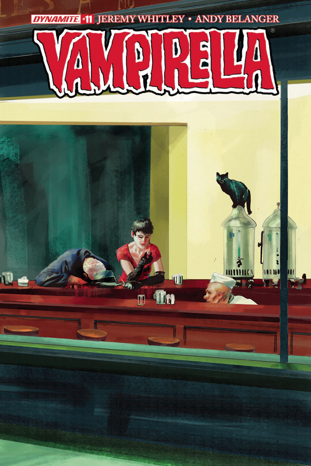 Vampirella #11 (Broxton Subscription Cover)