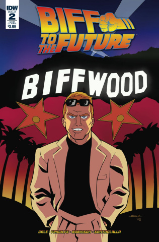 Back to the Future: Biff to the Future #2 (Subscription Cover)