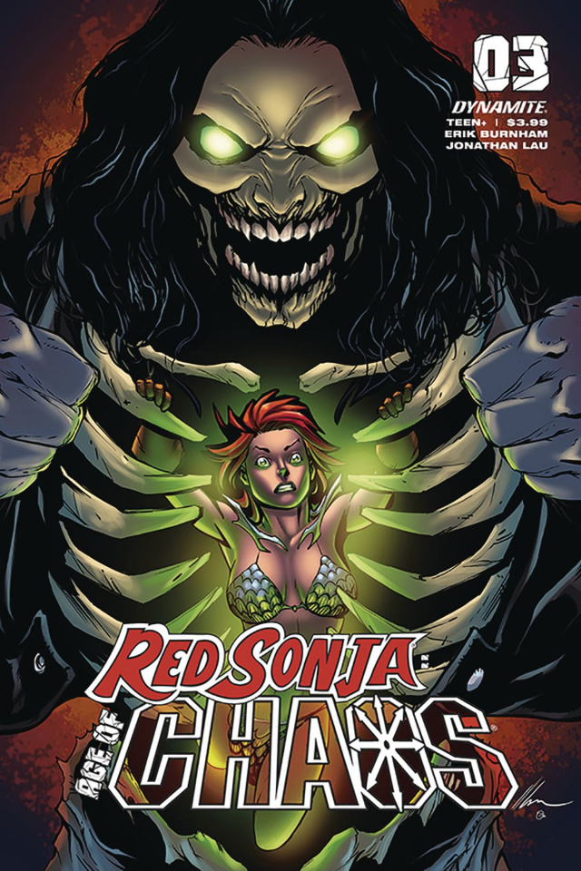 Red Sonja: Age of Chaos #3 (Garza Cover)