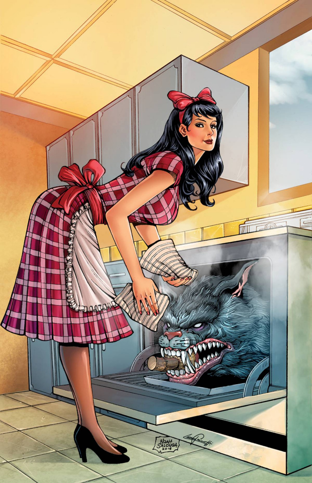 Grimm Fairy Tales: Wonderland #48 (Salonga Cover)