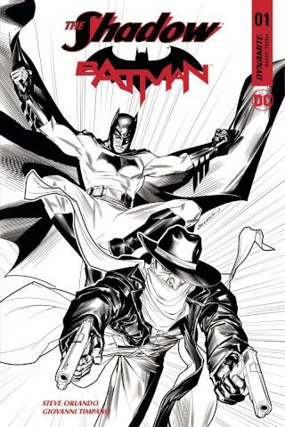 The Shadow / Batman #1 (30 Copy Peterson Cover)