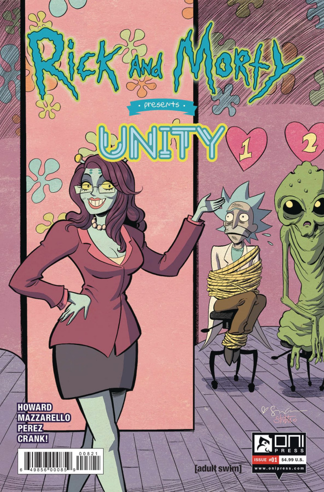 Rick and Morty Presents Unity #1 (Grace Cover)