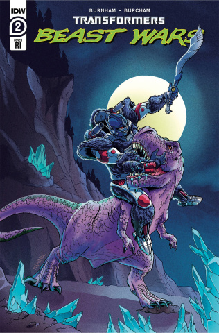 Transformers: Beast Wars #2 (10 Copy Winston Chan Cover)