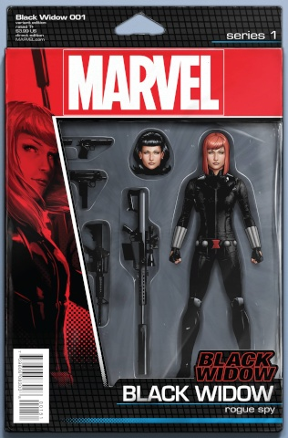 Black Widow #1 (Christopher Action Figure Cover)