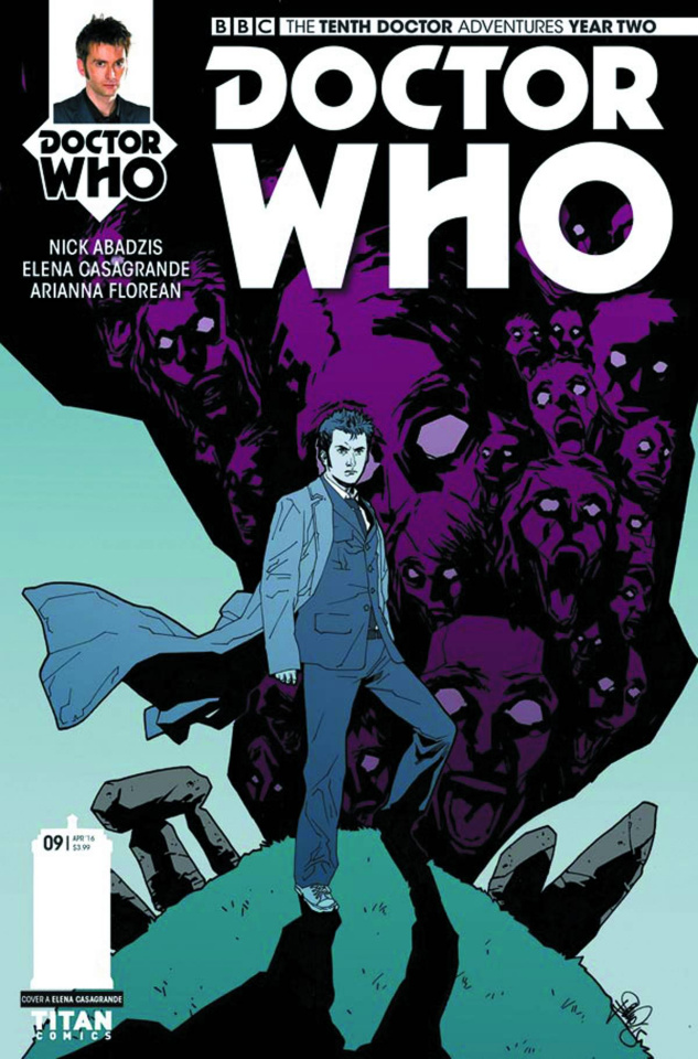 Doctor Who: New Adventures with the Tenth Doctor, Year Two #9 (Casagrande Cover)