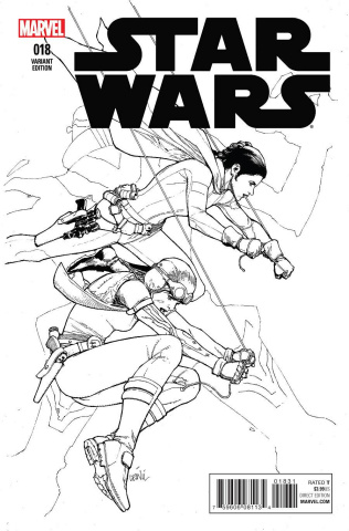 Star Wars #18 (Yu Sketch Cover)