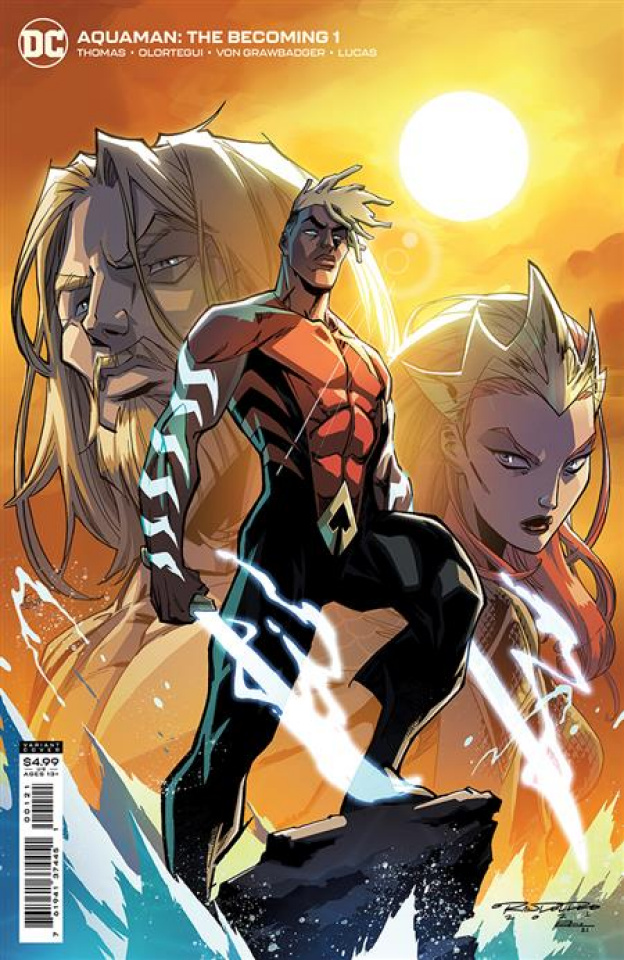 Aquaman: The Becoming #1 (Khary Randolph Card Stock Cover)