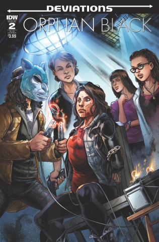 Orphan Black: Deviations #2 (Subscription Cover)